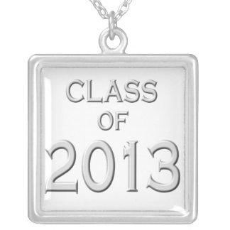 2013年の卒業のネックレスのクラス シルバープレートネックレス