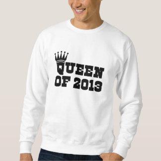 2013年の女王 スウェットシャツ