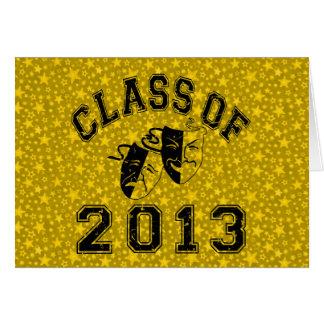 2013年の戯曲のクラス グリーティングカード