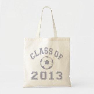 2013年サッカーのクラス-灰色2の トートバッグ