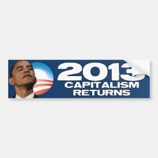 2013年-資本主義のリターン バンパーステッカー