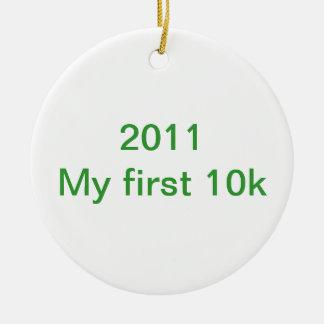 2013私の最初10 k セラミックオーナメント