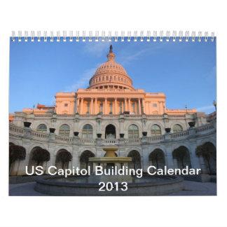2013米国の国会議事堂の建物のカレンダー カレンダー