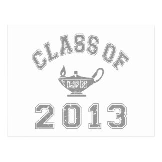 2013 LPNのクラス-灰色2 ポストカード
