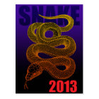 2013snake(a) ポストカード
