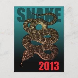 2013SNAKE(C) はがき
