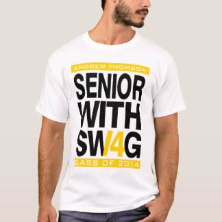 2014人の先輩のTシャツの年長のスワッグのクラス Tシャツ