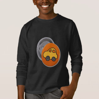 2014個のギフト: 小型おもちゃ車ボタン Tシャツ