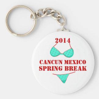 2014年のカンクンメキシコの春休みの記念品Keychain キーホルダー