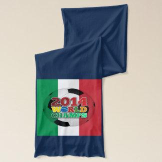 2014年の世界は球-イタリア--をむしゃむしゃ食べます スカーフ