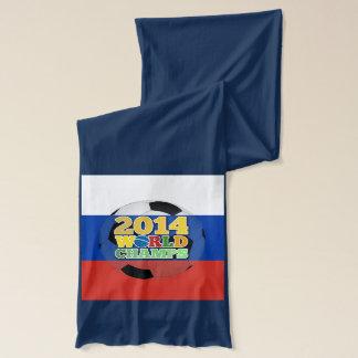 2014年の世界は球-ロシア--をむしゃむしゃ食べます スカーフ