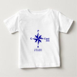 """2014年の""""コンパス前部"""" ベビーTシャツ"""