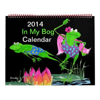 2014年のFroggyのカレンダー カレンダー