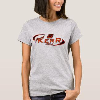 2014年のJosh Kerrの女性の灰色のTシャツ Tシャツ