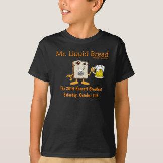 2014年のKennett正方形のBeerfestの青年ティー Tシャツ