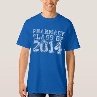2014年のTシャツの薬学のクラス Tシャツ