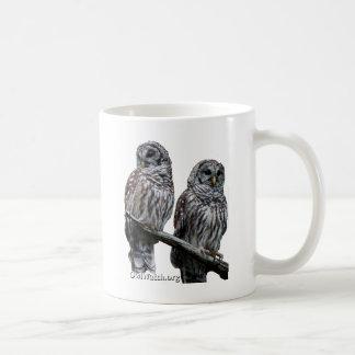 2014年9月- OwlWatchのフクロウ コーヒーマグカップ