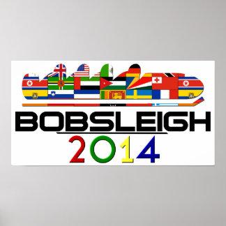 2014年: ボブスレー ポスター