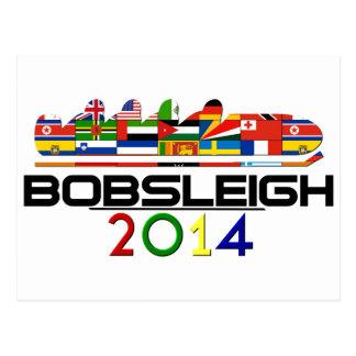 2014年: ボブスレー ポストカード