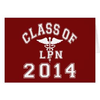2014 LPNのクラス カード