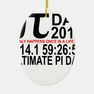 2015の最終的なPi日Tee.png セラミックオーナメント