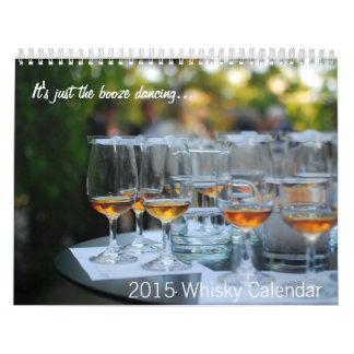 2015年のウィスキーのカレンダー カレンダー