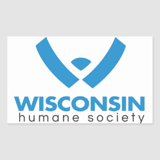 2015年のウィスコンシンの慈悲深い社会のロゴ 長方形シール