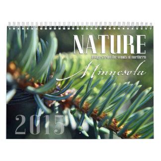 2015年のカスタムなミネソタの自然のカレンダー カレンダー