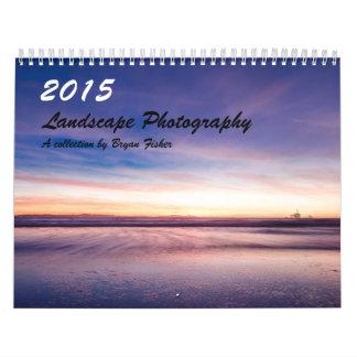 2015年の景色の写真撮影 カレンダー