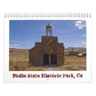 2015年のBodieのゴーストタウン カレンダー