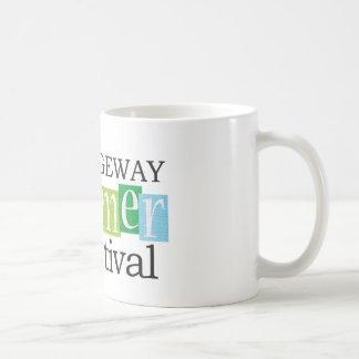 2015年のRidgewayの夏のフェスティバルのマグ コーヒーマグカップ