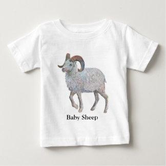 2015年はヒツジ年です ベビーTシャツ