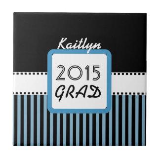 2015年または年のカスタムな青い縞A02のクラス タイル