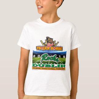 2015年トロイの木馬-ダブリンの石の Tシャツ