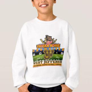 2015年トロイの木馬-西のジェファーソンRoughridersの スウェットシャツ