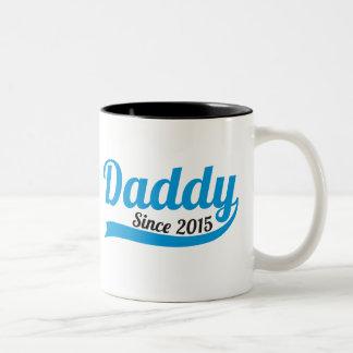 2015新しい父のパパのコップのマグ以来のお父さん ツートーンマグカップ