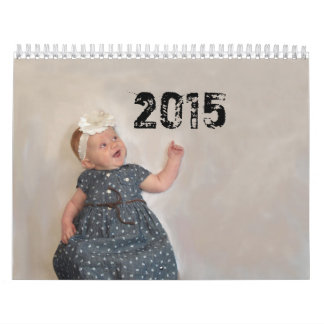 2015 BREEDEN家族のカレンダー カレンダー