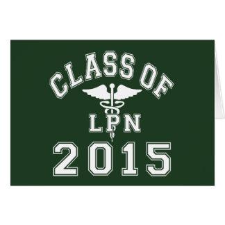 2015 LPNのクラス カード