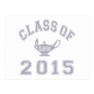 2015 LPNのクラス ポストカード