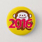 2016匹の猿ボタン 缶バッジ