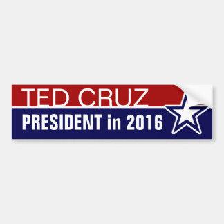 2016年にテッドCruz バンパーステッカー