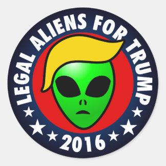 2016年にドナルドJ. Trumpのための大統領エイリアン ラウンドシール