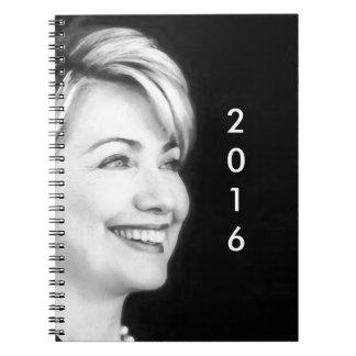 2016年にヒラリーのための投票Yes ノートブック