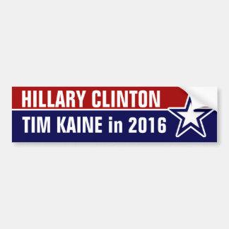 2016年にヒラリー・クリントンTim Kaine バンパーステッカー