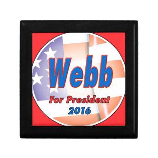 2016年に大統領のためのジムWebb ギフトボックス