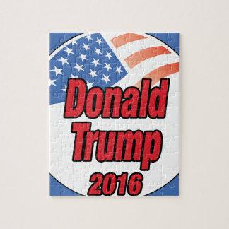 2016年に大統領のためのドナルド・トランプ ジグソーパズル