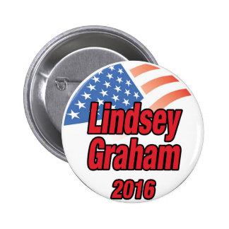 2016年に大統領のためのLindseyグラハム 5.7cm 丸型バッジ