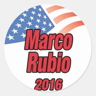 2016年に大統領のためのMarcoルビオ ラウンドシール