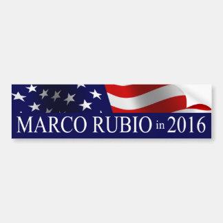 2016年にMarcoルビオの大統領 バンパーステッカー
