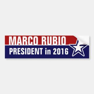 2016年にMarcoルビオ バンパーステッカー